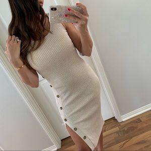 🆕Oatmeal Ribbed Midi Dress